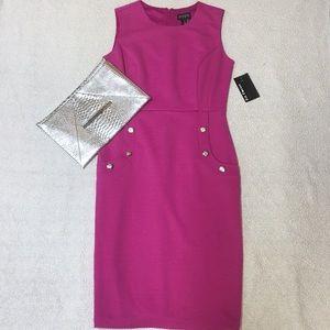 Ribbed Sparkle Pencil Dress